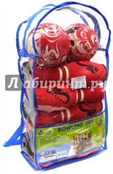 Игрушка боулинг (в сумке, 10 кеглей) (JBB-07-2 (B)) от Лабиринт