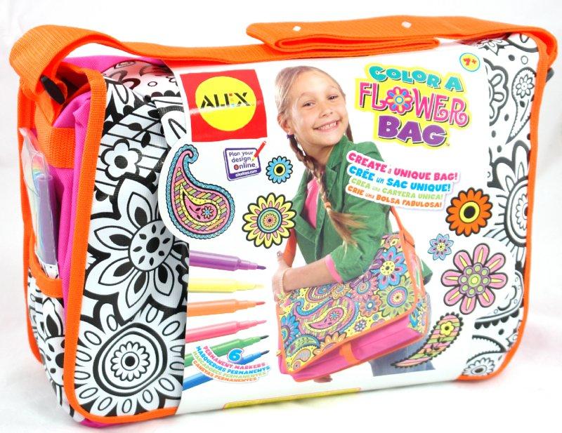 """Иллюстрация 1 из 7 для Набор """"Раскрась сумку"""" с 6 водостойкими фломастерами (509F)   Лабиринт - игрушки. Источник: Лабиринт"""