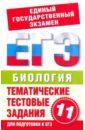 Пименов А. В. Биология. 11 класс. Тематические тестовые задания для подготовки к ЕГЭ