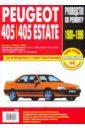 Peugeot 405/405 Estate: Руководство по эксплуатации, техническому обслуживанию и ремонту