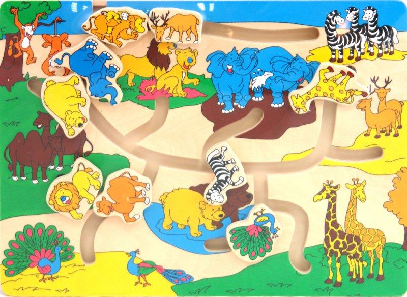 Иллюстрация 1 из 5 для Игра Лабиринт (4624) | Лабиринт - игрушки. Источник: Лабиринт