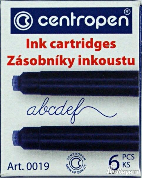 Иллюстрация 1 из 6 для Баллончики для перьевой ручки 6 штук в упаковке, синие (100190601) | Лабиринт - канцтовы. Источник: Лабиринт