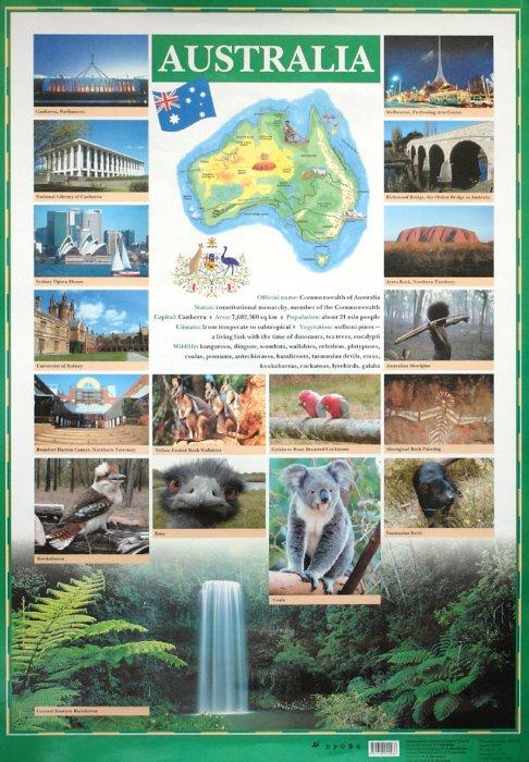 Иллюстрация 1 из 2 для Австралия/Новая Зеландия (английский язык) - Л. Беликова | Лабиринт - книги. Источник: Лабиринт