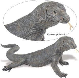 Иллюстрация 1 из 5 для Дракон Комодо (268829) | Лабиринт - игрушки. Источник: Лабиринт