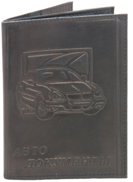 Иллюстрация 1 из 7 для Обложка для автодокументов + паспорт, кожа (АК07)   Лабиринт - канцтовы. Источник: Лабиринт
