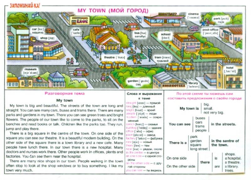 Иллюстрация 1 из 13 для Английский язык. Мой город. Для учащихся 2-5 классов | Лабиринт - книги. Источник: Лабиринт