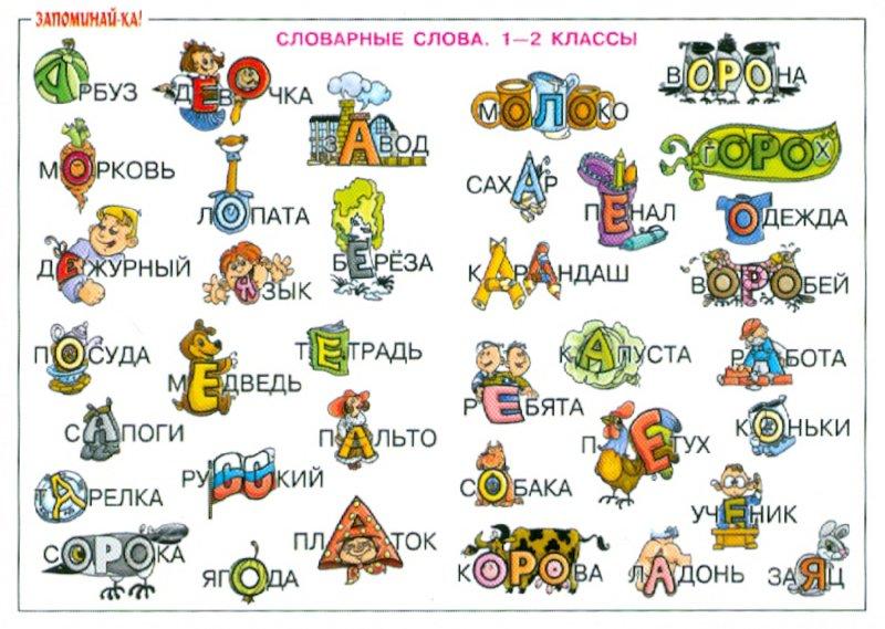 Занимательный русский язык 2 класс в картинках