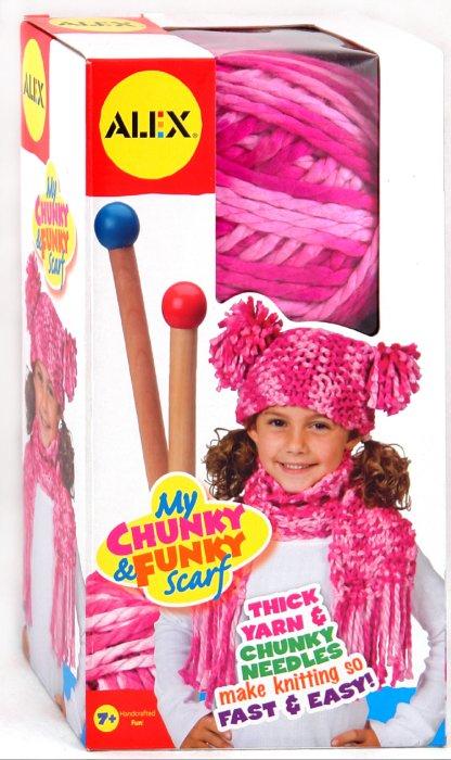 Иллюстрация 1 из 3 для Набор для вязания шапки и шарфа: спицы + пряжа (87PN) | Лабиринт - игрушки. Источник: Лабиринт