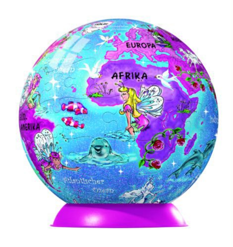 """Иллюстрация 1 из 2 для Пазл-шар-96 """"Глобус феи с блестками"""" (113897)   Лабиринт - игрушки. Источник: Лабиринт"""