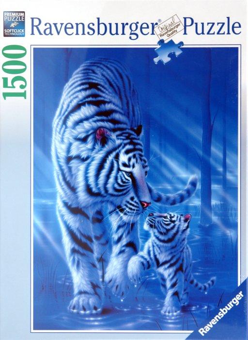 """Иллюстрация 1 из 2 для Пазл-1500 """"Первый пикник тигренка"""" (163823)   Лабиринт - игрушки. Источник: Лабиринт"""