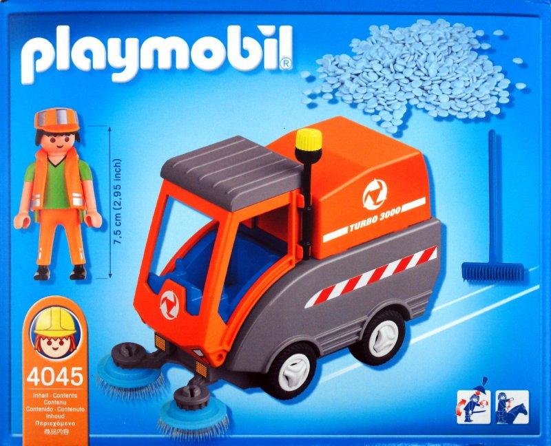 Иллюстрация 1 из 16 для Машина для чистки улиц (4045) | Лабиринт - игрушки. Источник: Лабиринт