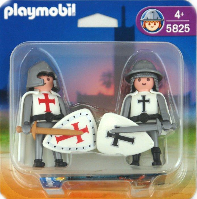 """Иллюстрация 1 из 11 для Двойной набор """"Французский рыцарь и крестоносец"""" (5825)   Лабиринт - игрушки. Источник: Лабиринт"""