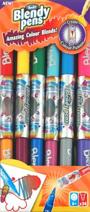 Иллюстрация 1 из 4 для Фломастеры, 24 штуки (BP1901) | Лабиринт - игрушки. Источник: Лабиринт