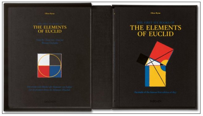Иллюстрация 1 из 4 для Byrne, Six Books of Euclid - Oliver Byrne | Лабиринт - книги. Источник: Лабиринт