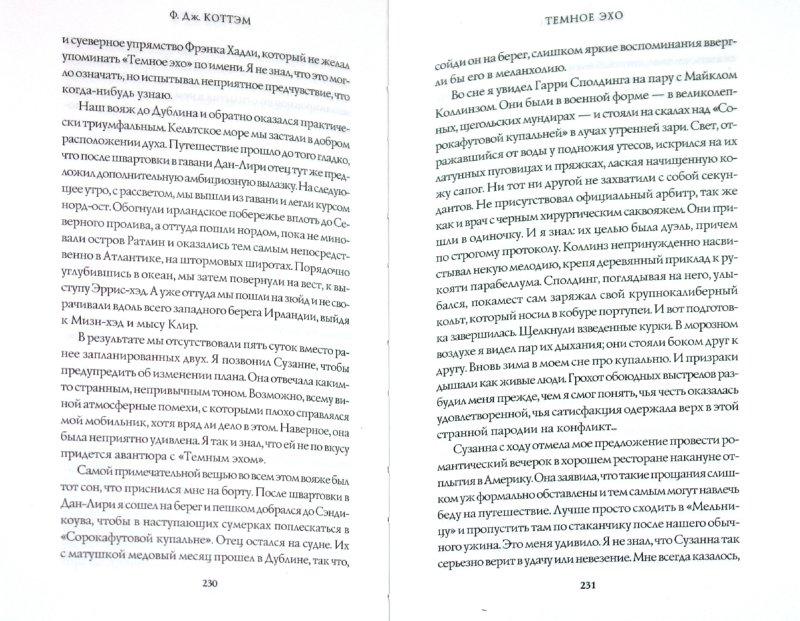 Иллюстрация 1 из 12 для Темное эхо - Ф. Коттэм | Лабиринт - книги. Источник: Лабиринт