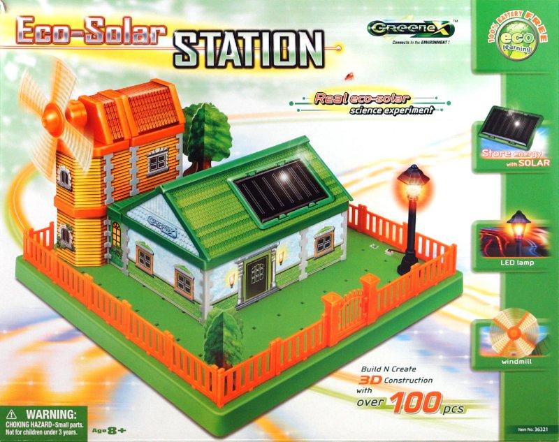 Иллюстрация 1 из 2 для Научный опыт: Эко-солнечная станция (36321) | Лабиринт - игрушки. Источник: Лабиринт