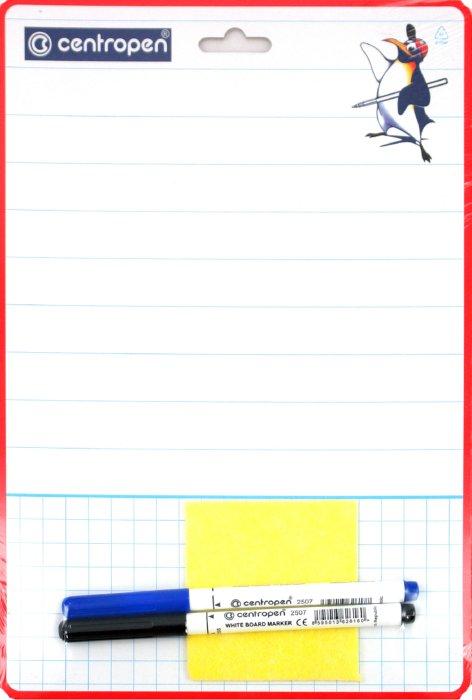 Иллюстрация 1 из 6 для Доска для рисования А4 (7769) + 2 маркера (2509) | Лабиринт - канцтовы. Источник: Лабиринт