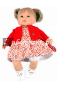 Кукла Тереза блондинка в красном (4407)