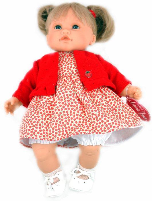 Иллюстрация 1 из 3 для Кукла Тереза блондинка в красном (4407) | Лабиринт - игрушки. Источник: Лабиринт