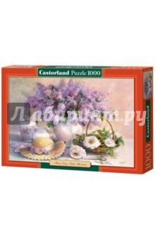 Puzzle-1000 Цветы, живопись (C-102006) пазлы crystal puzzle 3d головоломка вулкан 40 деталей