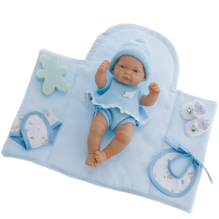 Иллюстрация 1 из 3 для Кукла-младенец (мальчик) Дани в голубом (26см) (4459M) | Лабиринт - игрушки. Источник: Лабиринт