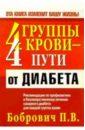 Бобрович Павел Викторович 4 группы крови - 4 пути от диабета п в бобрович 4 группы крови 4 пути от гипертонии