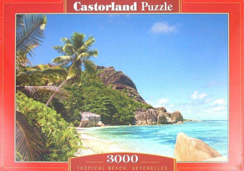 """Иллюстрация 1 из 24 для Puzzle-3000. """"Пляж, Сейшелы"""" (С-300228)   Лабиринт - игрушки. Источник: Лабиринт"""