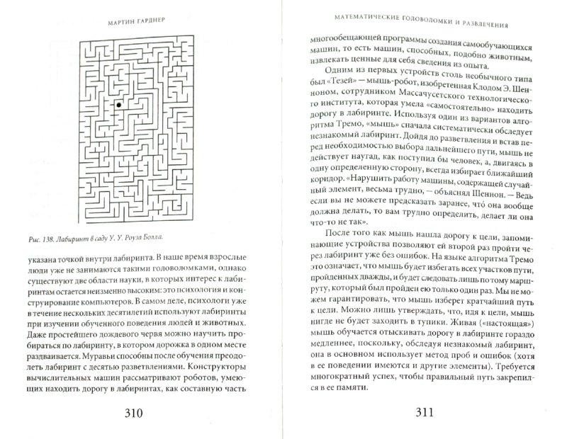 Иллюстрация 1 из 25 для Математические головоломки и развлечения - Мартин Гарднер   Лабиринт - книги. Источник: Лабиринт
