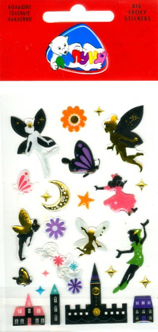 """Иллюстрация 1 из 2 для Наклейки детские """"Феи"""" (bES013)   Лабиринт - игрушки. Источник: Лабиринт"""