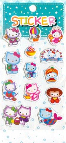 Иллюстрация 1 из 8 для Наклейки детские объемные, в ассортименте (YL-Н2) | Лабиринт - игрушки. Источник: Лабиринт