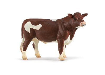 Иллюстрация 1 из 2 для Красный Голштинский бык (249529) | Лабиринт - игрушки. Источник: Лабиринт