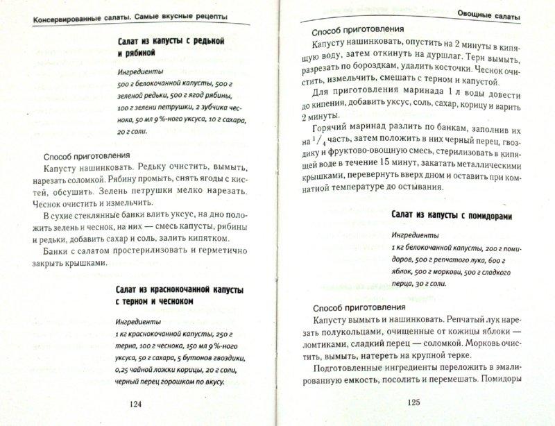 Иллюстрация 1 из 6 для Консервированные салаты. Самые вкусные рецепты - Елена Бойкова | Лабиринт - книги. Источник: Лабиринт