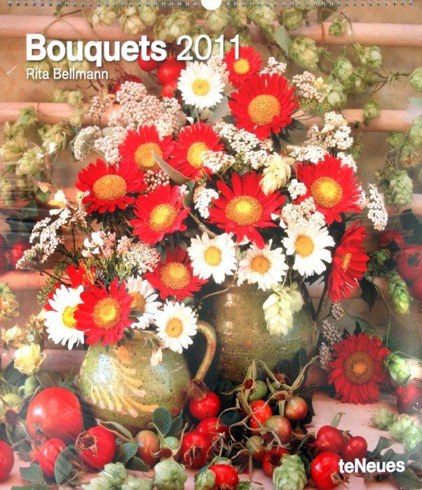 """Иллюстрация 1 из 2 для Календарь 2011 """"Букеты"""" (4168-6)   Лабиринт - сувениры. Источник: Лабиринт"""