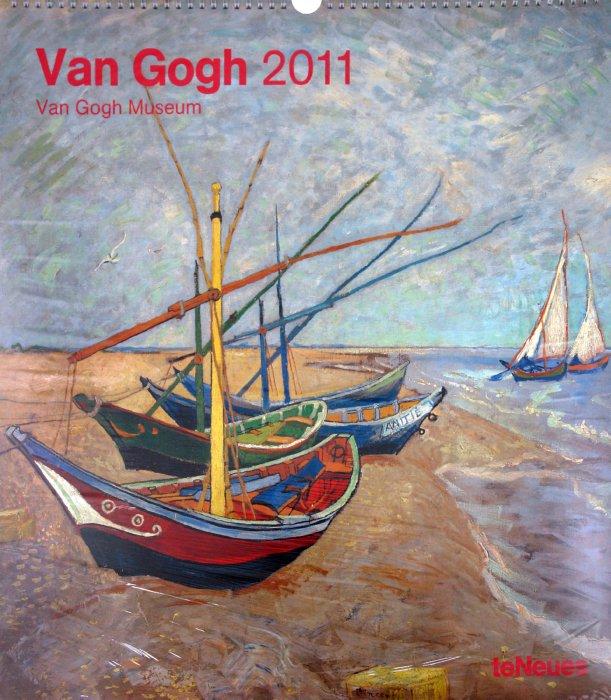 """Иллюстрация 1 из 2 для Календарь 2011 """"Ван Гог"""" (4143-3)   Лабиринт - сувениры. Источник: Лабиринт"""