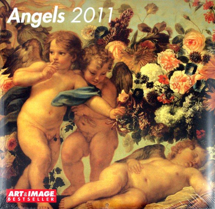 "Иллюстрация 1 из 2 для Календарь 2011 ""Ангелы"" (4593-6) | Лабиринт - сувениры. Источник: Лабиринт"