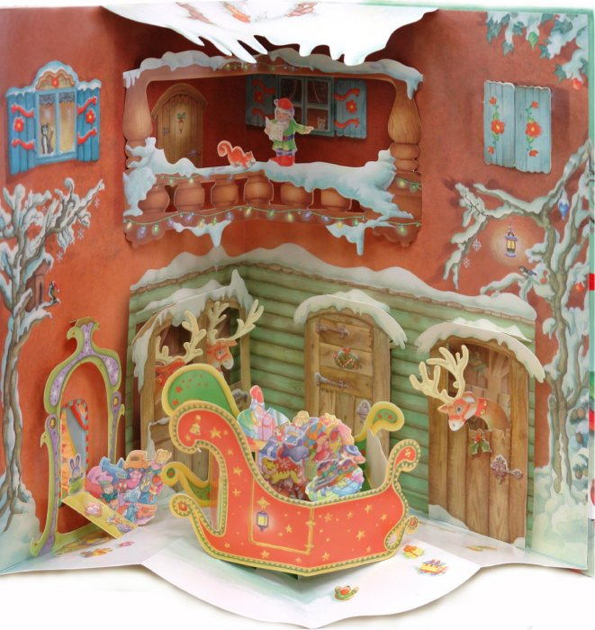 Иллюстрация 1 из 3 для Дом Деда  Мороза | Лабиринт - книги. Источник: Лабиринт
