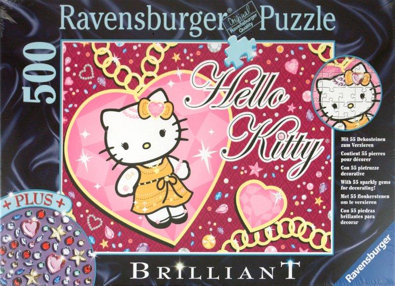 "Иллюстрация 1 из 3 для Пазл-500 ""Hello Kitty"" (со стразами) (149421) | Лабиринт - игрушки. Источник: Лабиринт"