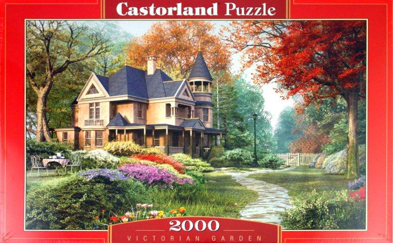 """Иллюстрация 1 из 10 для Puzzle-2000. """"Викторианский сад"""" (С-200344)   Лабиринт - игрушки. Источник: Лабиринт"""