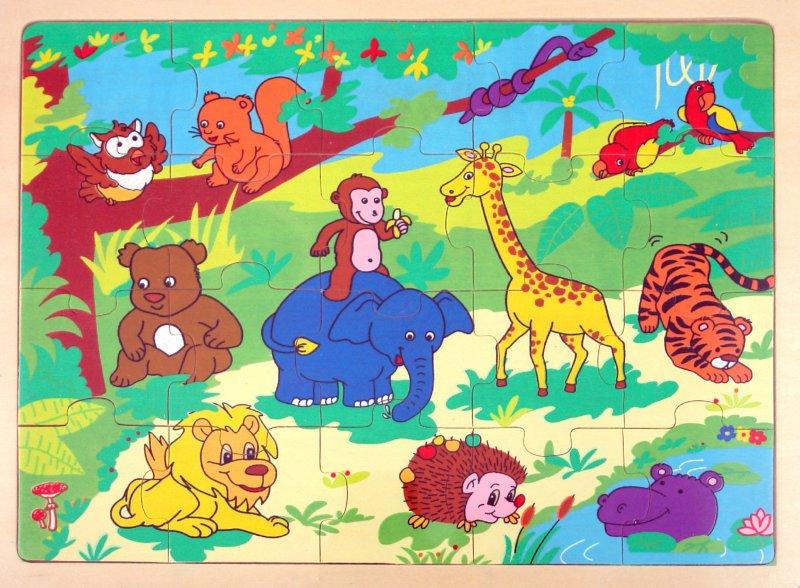 Иллюстрация 1 из 3 для Пазлы (Ф21-304) | Лабиринт - игрушки. Источник: Лабиринт