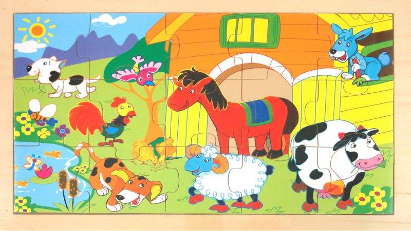 Иллюстрация 1 из 4 для Пазлы (Ф21-328)   Лабиринт - игрушки. Источник: Лабиринт