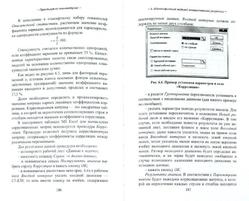 Иллюстрация 1 из 9 для Практикум по эконометрике - Гладилин, Герасимов, Громов   Лабиринт - книги. Источник: Лабиринт
