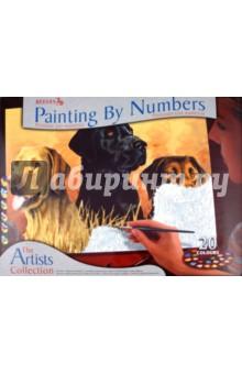 """Набор для раскрашивания красками """"Собаки"""" (PBNACL2)"""