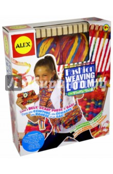 Подробнее о Ткацкий станок (27WN) alex набор для творчества ткацкий станок