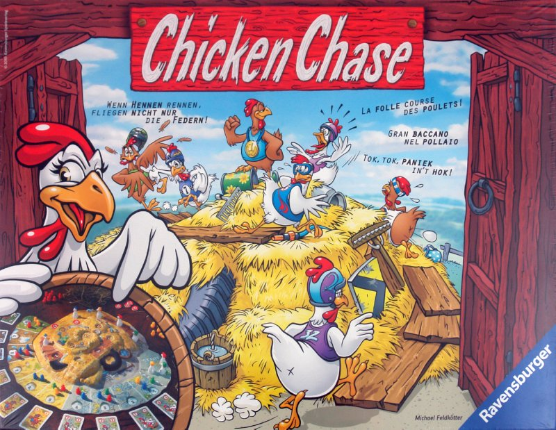 """Иллюстрация 1 из 7 для Настольная игра """"Chicken Chase"""" (265282)   Лабиринт - игрушки. Источник: Лабиринт"""