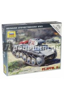 Немецкий танк Т-II (6102) танк звезда советский легкий танк т 60 1 100 хаки 6258