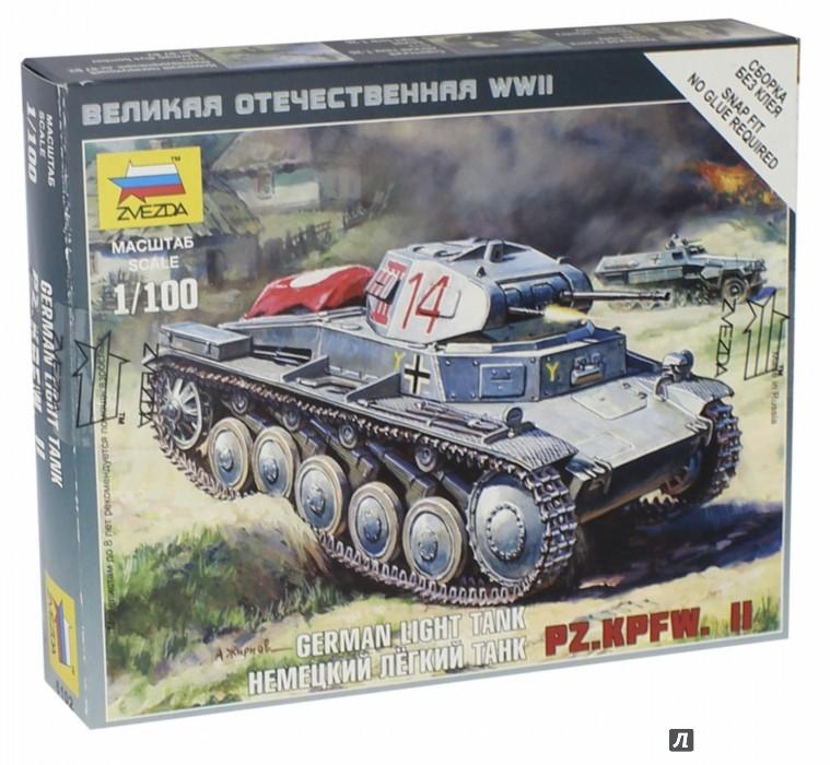 Иллюстрация 1 из 20 для Немецкий танк Т-II (6102) | Лабиринт - игрушки. Источник: Лабиринт