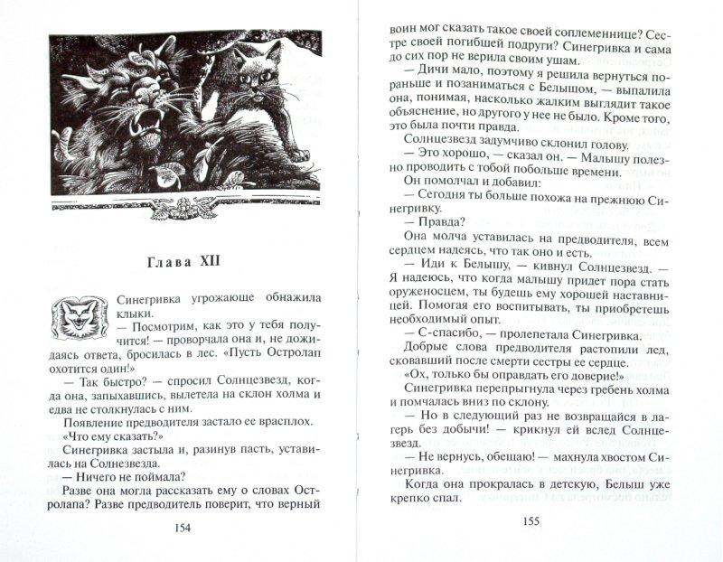 Иллюстрация 1 из 4 для Пророчество Синей Звезды. Выбор - Эрин Хантер | Лабиринт - книги. Источник: Лабиринт