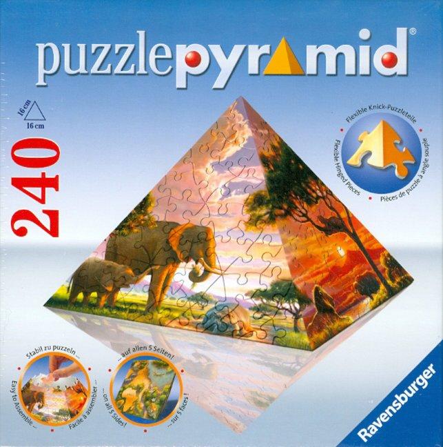 "Иллюстрация 1 из 10 для Паззл-пирамида ""Африка"" (114313)   Лабиринт - игрушки. Источник: Лабиринт"