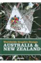 Worldwide Graphic Design: Australia & New Zealand pair of letter print crew graphic socks