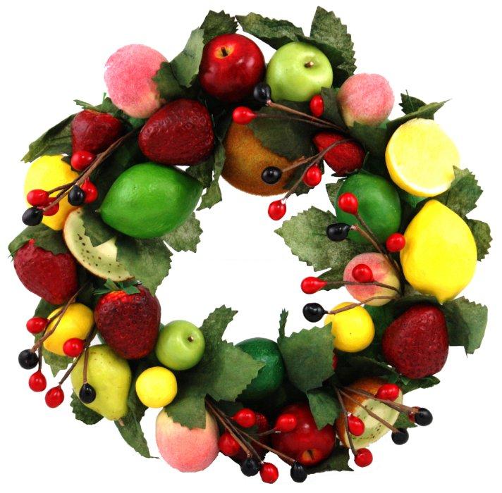 Иллюстрация 1 из 3 для Украшение декоративное: венок из фруктов (Ф21-73)   Лабиринт - сувениры. Источник: Лабиринт